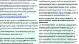 Published! Positive Minds Connect (PMC) October 2016 Newsletter