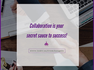 Collaboration: The Secret Sauce