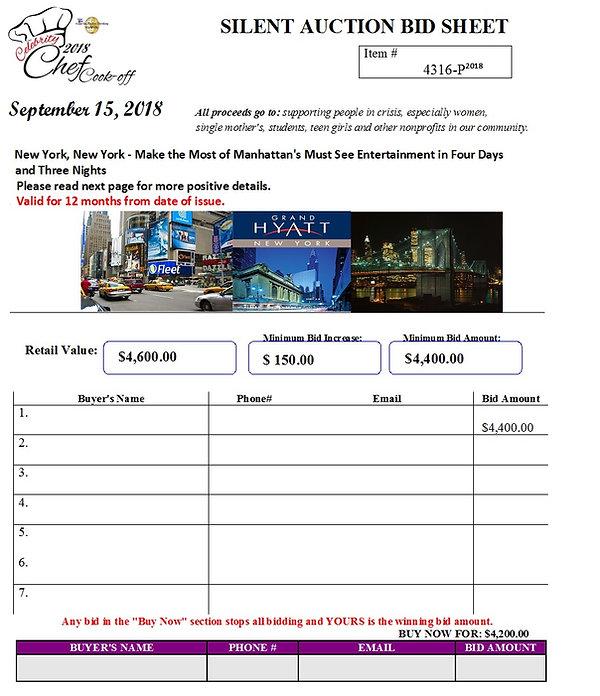 New York Entertainment ITEM# 4316-P.jpg