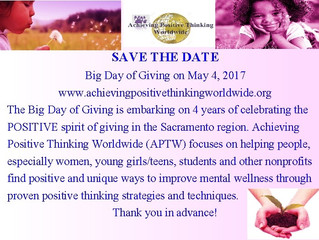 SAVE THE DATE - BIG DAY OF GIVING 2017