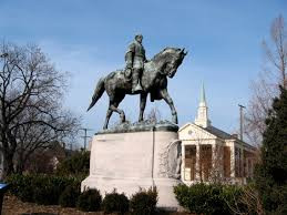 The confederate Robert E. Lee and what this symbolizes