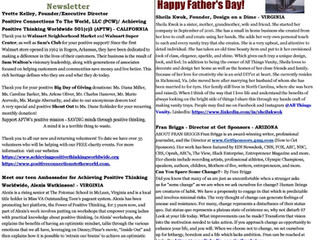 Published Positive Minds Connect - Happy Father's Day!
