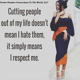 You deserve respect!