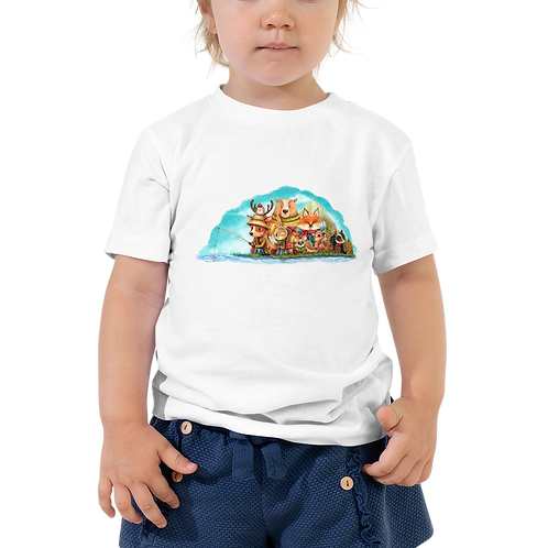 Fishing Camp Toddler Tee