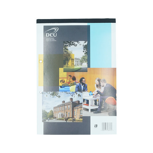 DCU A4 160pg top bound refill pad