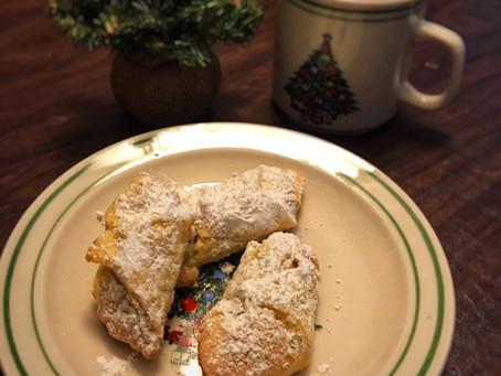 Hungarian butterhorn cookies