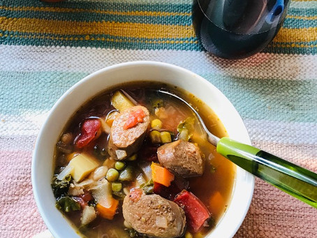 Comforting Vegetable Soup