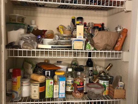 Try these hardworking pantry organizing tips