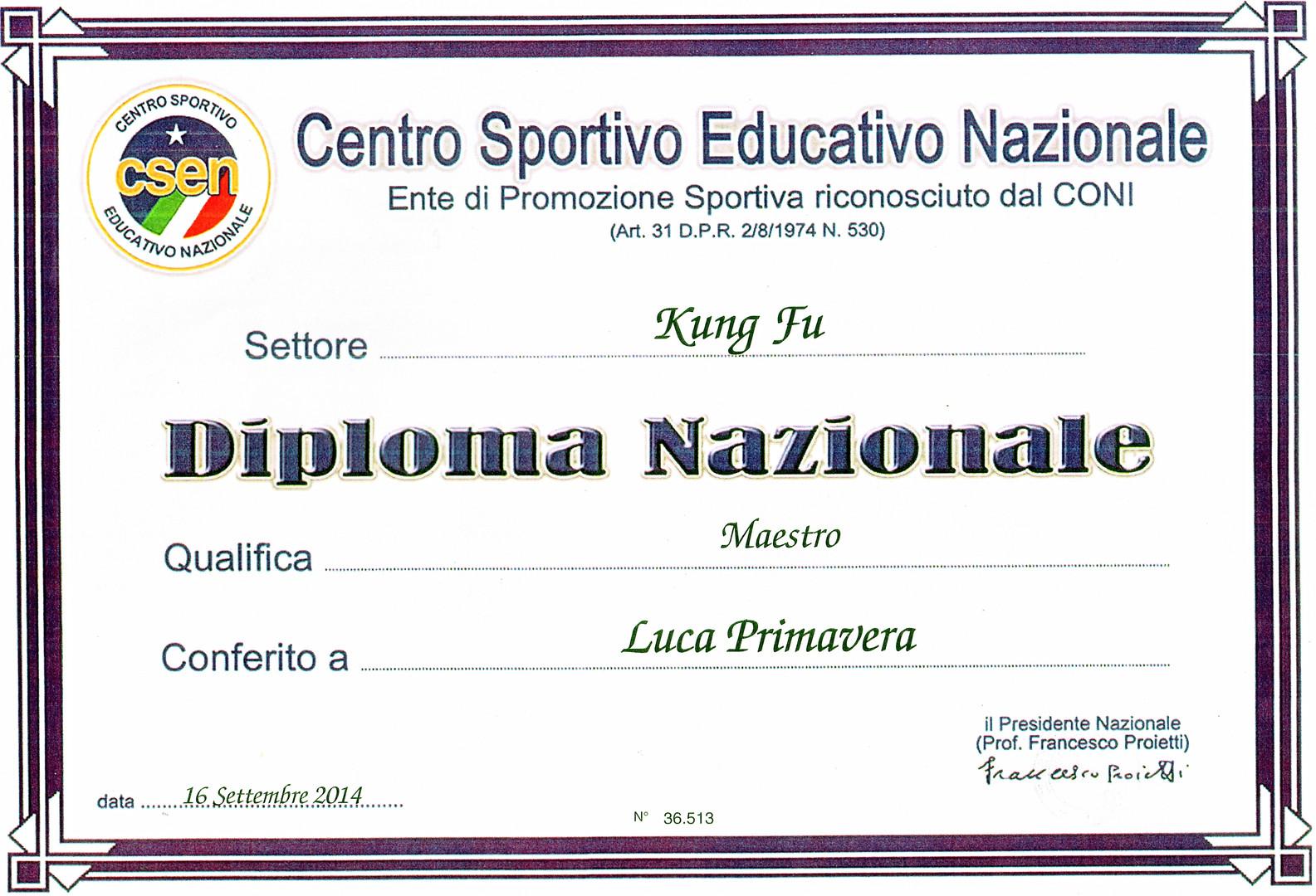 Luca CSEN Maestro.jpg