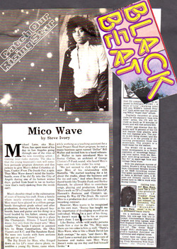 Mico Wave BLACK BEAT Press Clipping