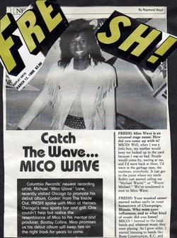 Mico Wave - FRESH! Magazine Press Clipping