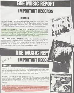 Mico Wave BRE MUSIC REPORT Press Clipping