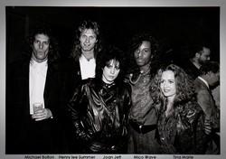 Mico Wave, Michael Bolton, Henry Lee Summer, Joan Jett, Tina Marie - Press Clipping