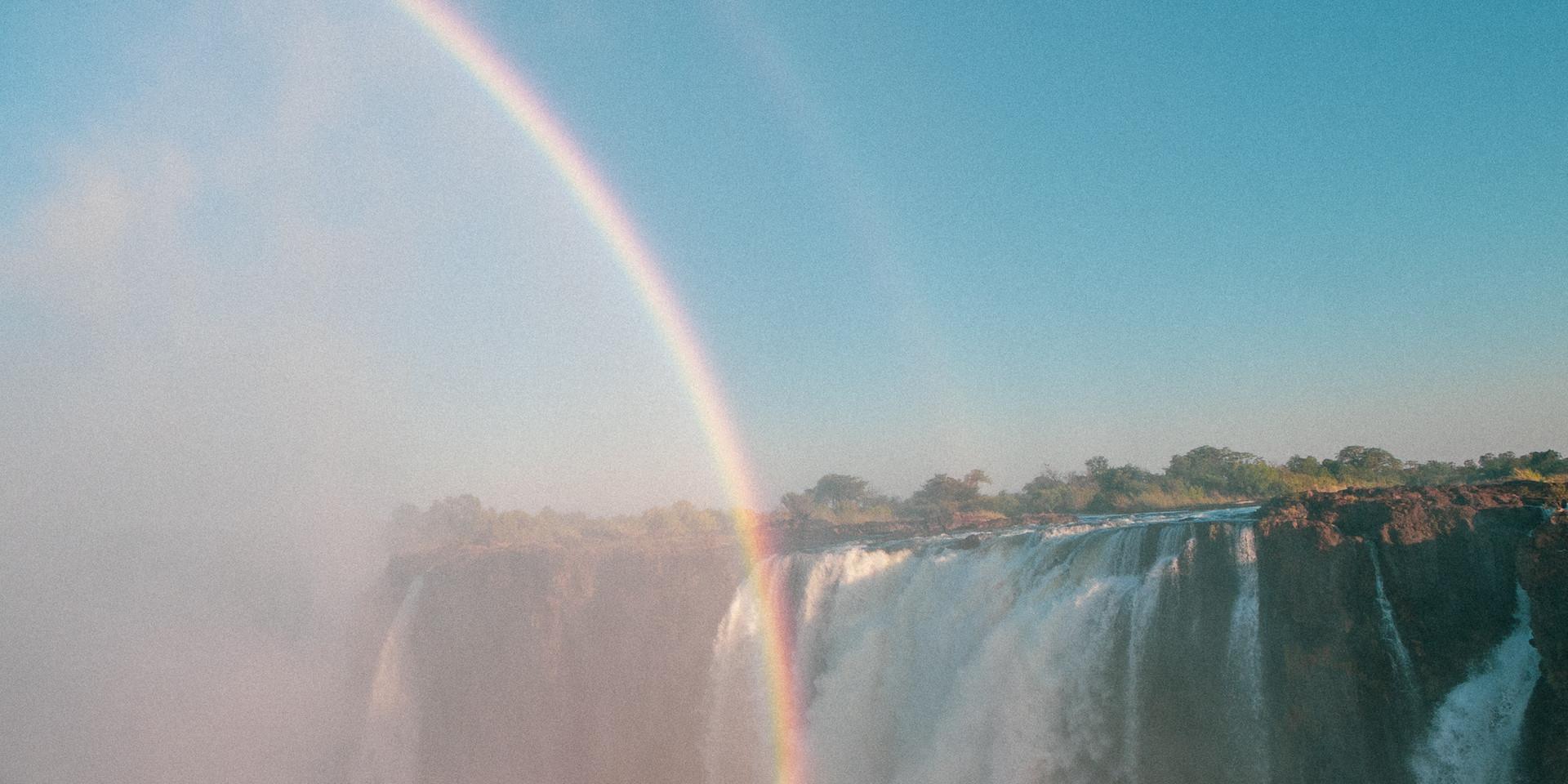 Rainbow at the falls