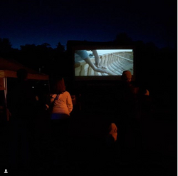 Outdoor screening