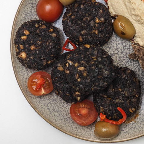 How to Make Coffee Flour Falafels