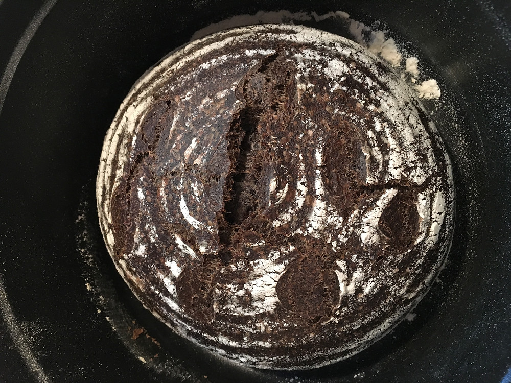 Sourdough Bread Made with Coffee Flour by Kaffe Bueno