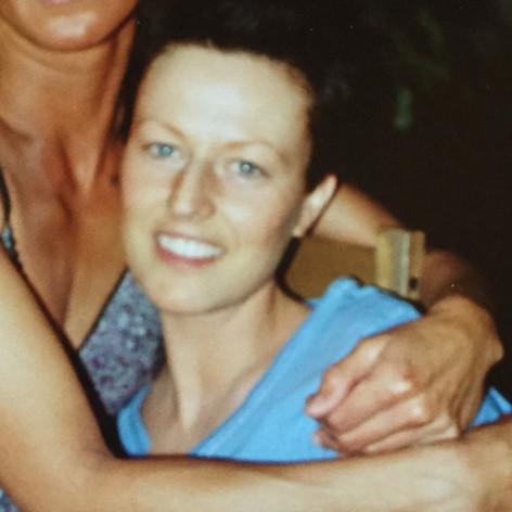 2005 während meiner zweiten Therapie kurz vor einer Speiseröhreentzündung als alleinerziehende Mutter mit einer guten Freundin.
