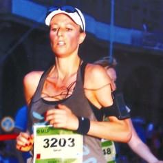 2010 mein erster Halbmarathon nach Beendigung der Strahlentherapie, die ich eisern mit 4x pro Woche mit Laufeinheiten schaffte durchzuhalten.