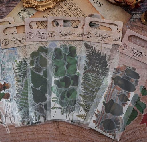 plants sticker flakes