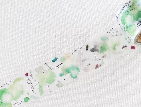 Liang Feng Watercolor Guide Vol 2 Dye & Bean Washi Tape