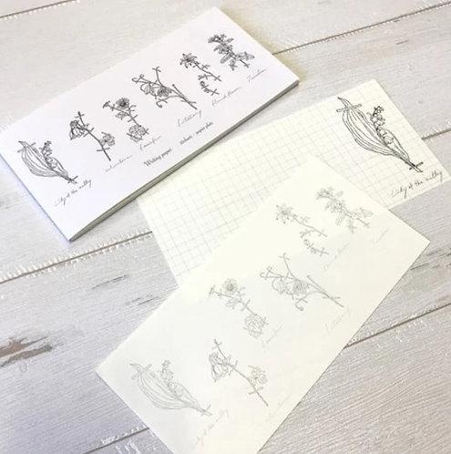 Papier Platz Hutte Memo Pad Letter Pad