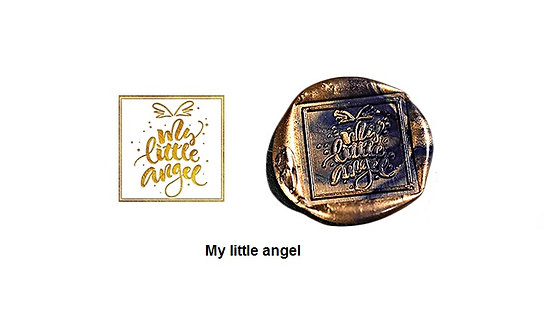 Wax Seal Stamp - My Little Angel (Square)