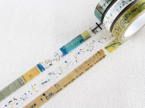 Chamil Garden Colors of Season Washi Tapes Set - OMINAESHI