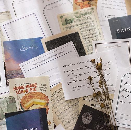 Variety of Vintage Paper Booklet (Choose Design)