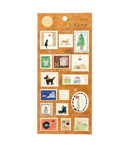 miki tamura stamp sticker