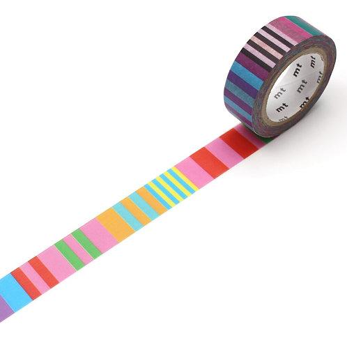 MT x Kapitza - Candy Stripe Washi Tape