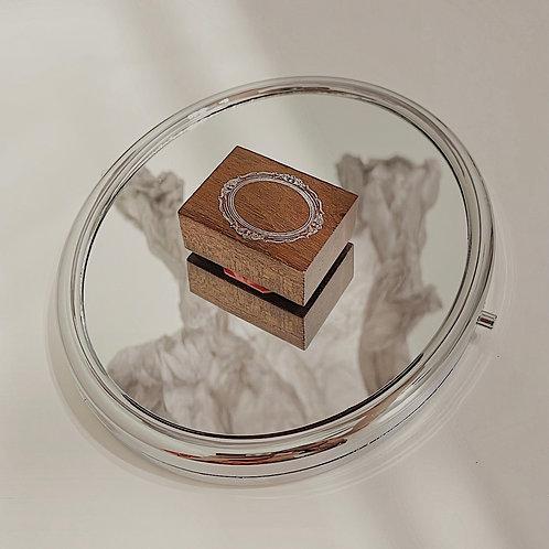 Jieyanow Atelier - 3/5 Rectangle Mirror Rubber Stamp