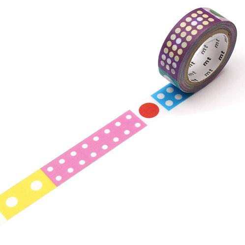 MT x Kapitza - Polka Dot Ice Washi Tape