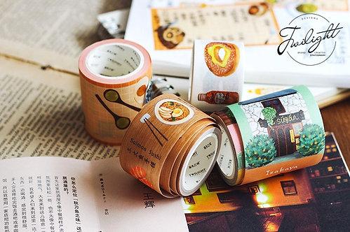 Japanese Food and House Washi Tape / Masking Tape Series