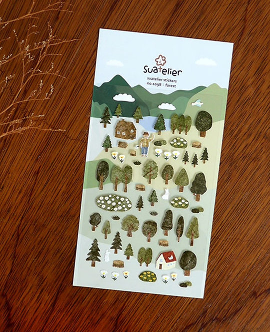 Suatelier Stickers Forest