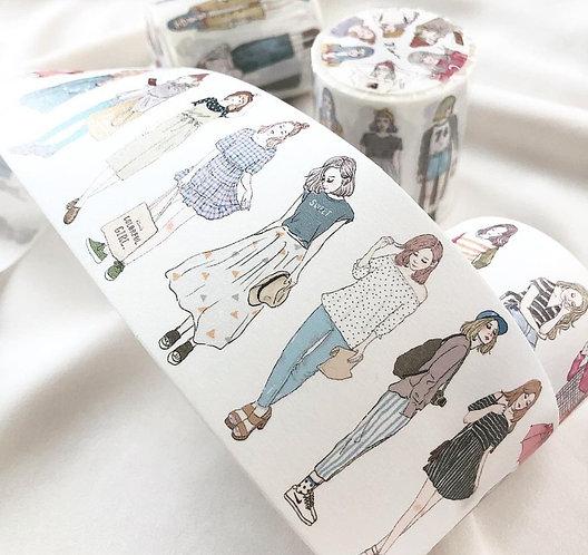 Pion Girls paper tape