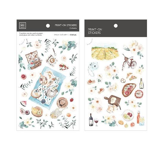 MU Print On sticker 111