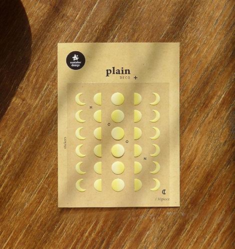 suatelier sticker plain moon 1614
