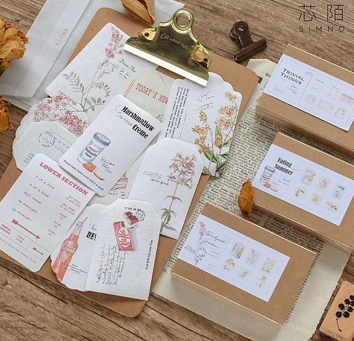 Pretty Label Papers Pack (Choose Pack)