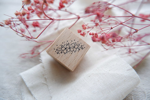 labiri corsage rubber stamp