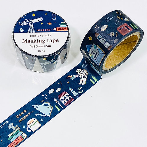 eric small things masking tape cosmic
