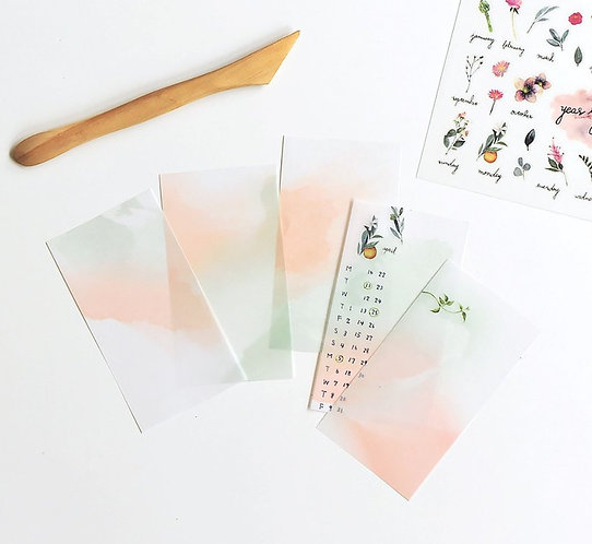 MU Lifestyle Dyeing Tracing Paper Pack New Colors