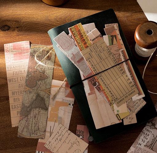 Journal Paper Collage Strips (Choose Set)