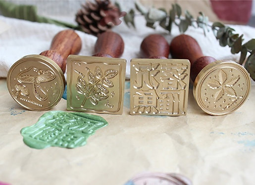 Moodtape Wax Seal Stamps (Choose Designs)