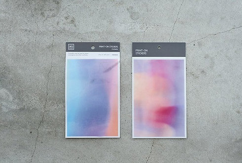 MU Print-On Sticker - Dreamy Aurora 005