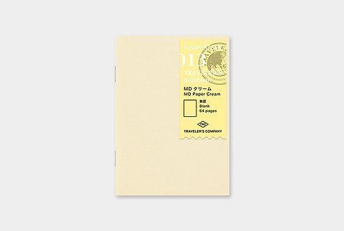 Traveler's Notebook 013 MD Paper Cream Refill, Passport