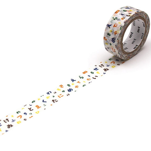 MT x SOU・SOU - Iro Ha Nihoedo Washi Tape