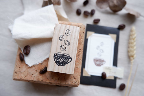 laabiri coffee rubber stamps
