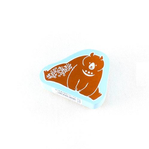 kodomo no kao bear stamp