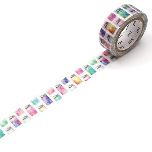 MT ex - Colorful Jar Washi Tape